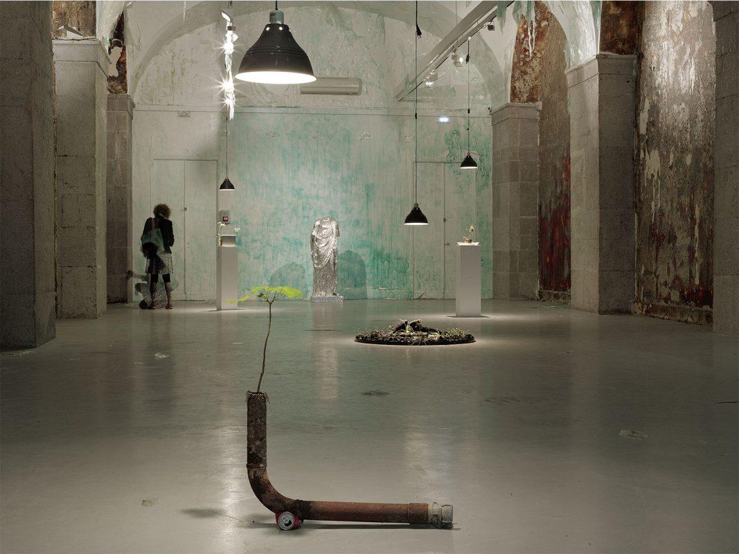 Vue de l'exposition « Michel Blazy : Time Line »