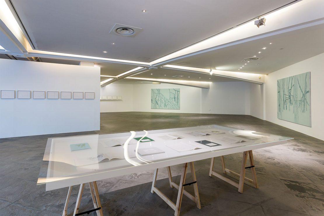 Vue de l'exposition « Irene Kopelman »