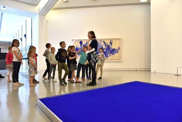 Visite guidée dans le cadre de la Journée hommage à Yves Klein en 2018