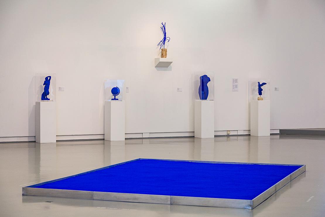 Salle Yves Klein, MAMAC, Nice, © Succession Yves Klein c/o Adagp, Paris, 2020