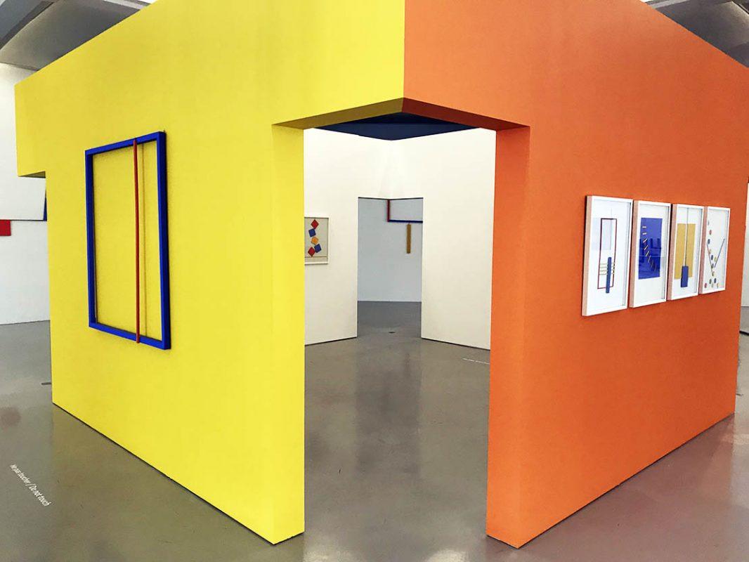 Salle Albert Chubac, donation de l'artiste en 2004, MAMAC, Nice, © Adagp, Paris, 2020. Photo : François Fernandez